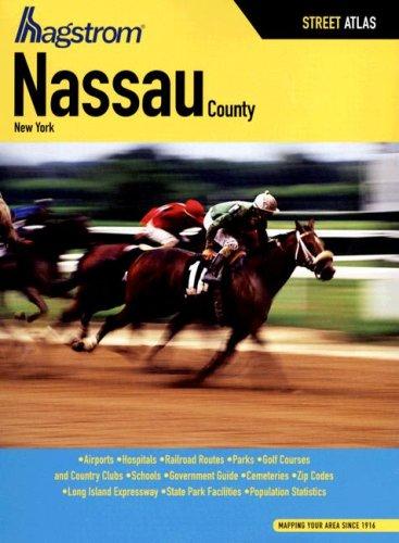 Hagstrom Nassau County, New York Street Atlas