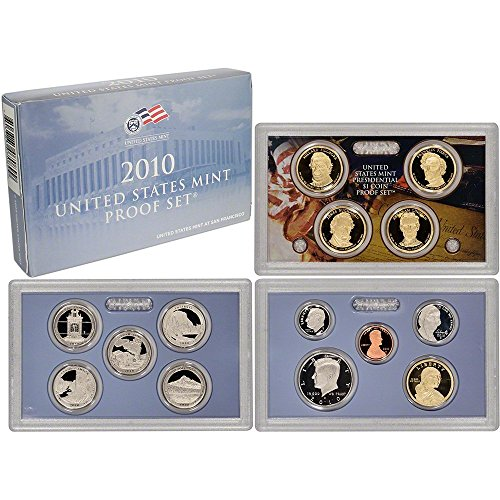 2010 S US Mint Proof Set 14 PC Beautiful Cameo Proof
