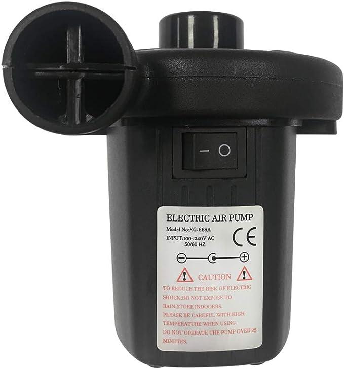 AUFUN - Bomba de Aire eléctrica para colchones de Aire, Piscinas ...