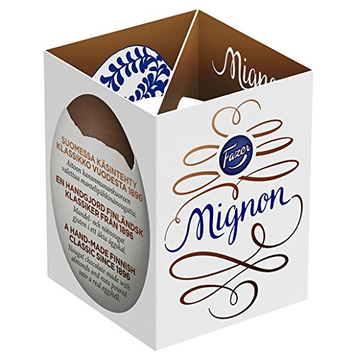 FAZER Mignon 52g Easter Chocolate Egg [retail pack of 35 pcs]
