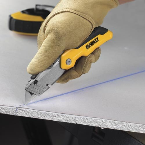 076174100358 - DEWALT DWHT10035L Folding Retractable Utility Knife carousel main 3