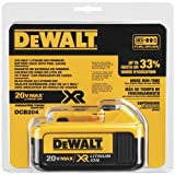 DEWALT DCB204 20V Max Premium XR Li-Ion Battery Pack