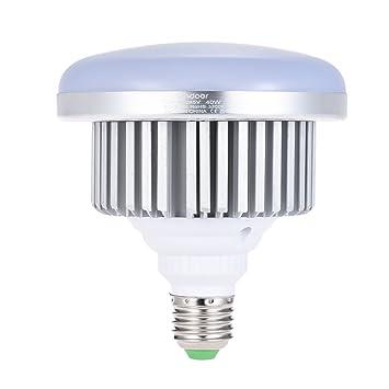 Andoer E27 40 W bombilla LED de bajo consumo lámpara de luz cálida amarilla 3200 K para Photo Studio Vídeo Home Iluminación Comercial: Amazon.es: ...