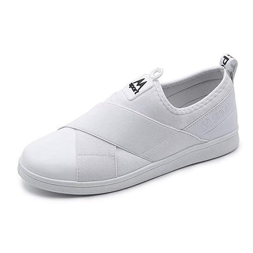 Mocasines De Mujer Zapatos Planos ResbalóN En Tela De AlgodóN Patchwork Alpargatas Casual Vulcanized Plataformas para Mujer Zapatillas De Deporte: ...
