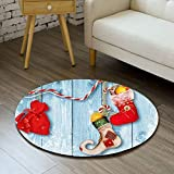 gel kitchen mats target Linker Wish Padded Kitchen Mat 3D Floral Printed Round Floor Mat Circular Carpets Living Room Non-slip Sofa Tea Table Mats Carpet Computer Chair Mat Pad
