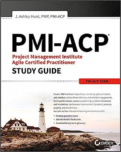 Amazon.com: PMI-ACP Project Management Institute Agile Certified ...