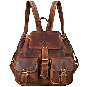 STILORD 'Larissa' Vintage Sac à Dos/Sac a à Main pour Femmes/Loisir/Documents au Format A4 / pour MacBooks/Backpack…
