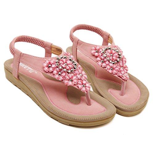BELLOO - Zapatos de tacón  mujer Rosa