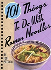 """Expand your ramen repertoire with an amazingly inventive and unique addition to the million-copy-selling """"101"""" series: 101 Things to do with Ramen Noodles. Ramen is fast, easy, and filling, but what can be done to spruce it up and give it a w..."""