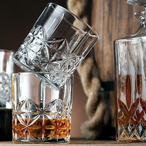 Set of 4 17-Ounce Basics Tritan Hobnail Texture Footed Iced Tea Glasses