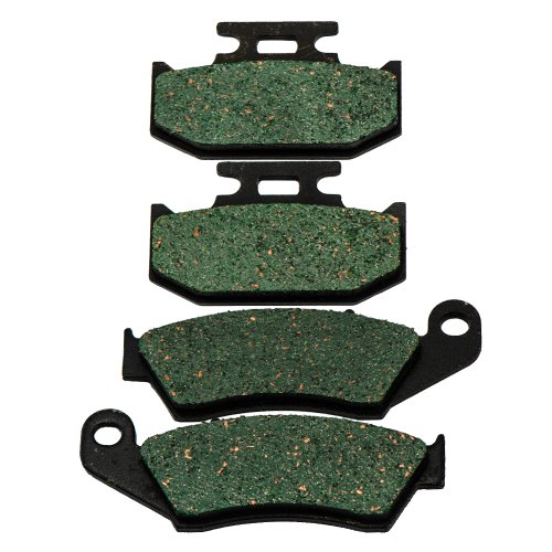 Front And Rear Kevlar Carbon Brake Pads For Suzuki DR 650 1996 2016