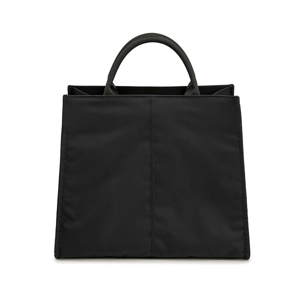 Simple Leisure Business Briefcase Shoulder Bag Classic Handbag Black