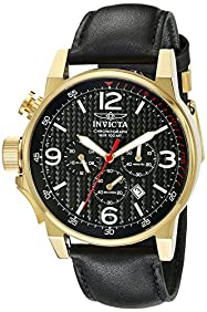Invicta Men's 20135SYB I-Force Analog Display Quartz Black Watch