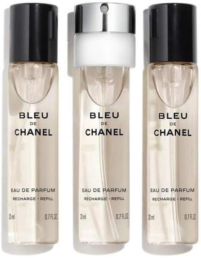 Chanel Bleu de Chanel Eau de Parfum 3x 20ml recharge