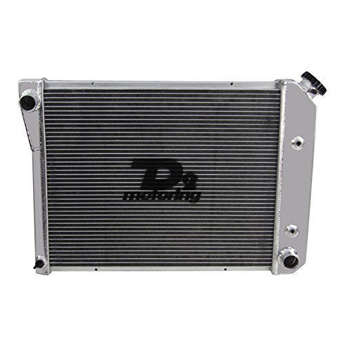 Chevy El Camino Radiator Core (Primecooling 3 Row Core Full Aluminum Radiator for Chevy El Camino ,Nova ,Camaro ,etc. 1968-87 / Buick /GMC /Pontiac /Oldsmobile, More Models)