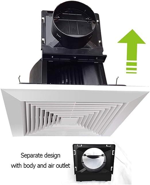 Extractor/Extractor, Tubo De Techo For Baño De 8 Pulgadas Ventilador De Techo De Alta Potencia ZHAOSHUNLI 828: Amazon.es: Hogar