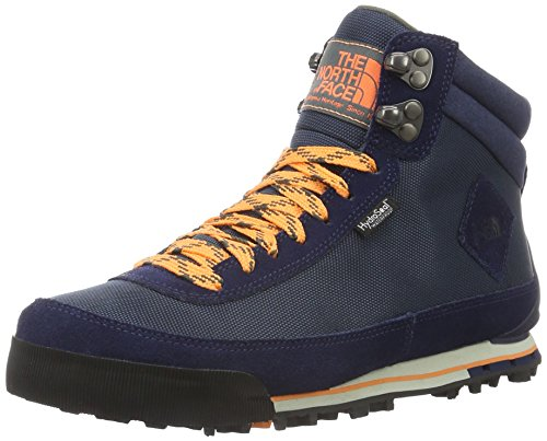 North Face W Back-To-Berkeley Boot II, Mujer Zapatillas de deporte exterior Azul / Naranja