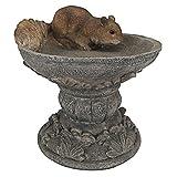 Cheap Design Toscano Hunter the Woodland Squirrel Statue, Multicolored