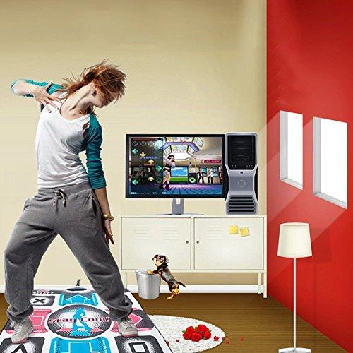 Lovelysunshiny Non-Slip Dancing Step Dance Mat Pad Pads Dancer Blanket to PC with USB by Lovelysunshiny (Image #1)