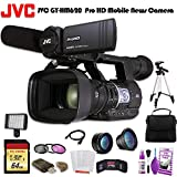 JVC GY-HM620 ProHD Mobile News Camera (GY-HM620U) W/ 64GB Memory Card, Bag, Tripod, Led Light and More