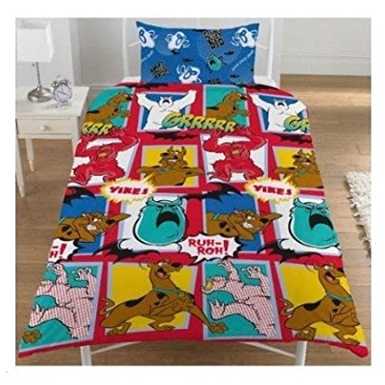 boyskids scooby doo bedding sheets set twin bed multicoloured - Scoobydoo Bedding