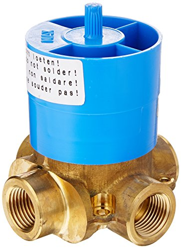 American Standard R430R430 Three Way In-Wall Rough Diverter Valve, Controls Water Flow between Three Outlets