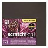 Ampersand Museum Series Scratchbord, 1/8 Inch Depth, 12X12 Inch (CBB122)