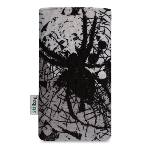 Stilbag Etui 'MIKA' pour Apple iPhone 6 - Dessin: Spider Invasion