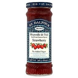St. Dalfour Rhapsodie de Fruit Strawberry Jam No Added Sugar (284g)