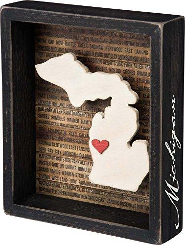 Primitives Kathy Box Sign Michigan product image