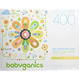 Babyganics Face, Hand and Baby Wipes, Fragrance Free, 400-Count (Contains Four 100-Count Packs), Packaging May Vary