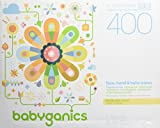Babyganics Face, Hand & Baby Wipes, Fragrance Free, 400 Count (Contains Four 100-Count Packs): more info