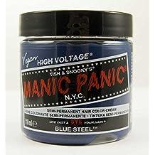 Manic Panic Semi-Permament Haircolor Blue Steel 4oz Jar