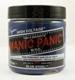 Manic Panic Classic Cream Semi-Permanent Vegan Hair Color - BLUE STEEL