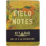 A6 Notebooks - Kitbag Field Notes - Pack of 2 - Each = 80 Pages - Size 148mm x 105mm