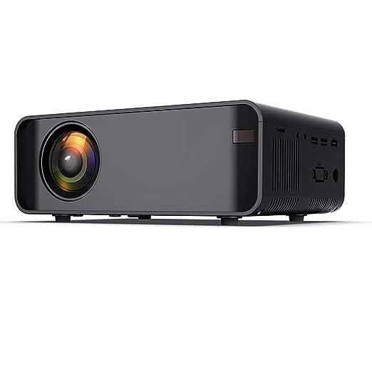 Bolange Proyector de Cine en casa Proyector Multimedia LED HDMI/AV ...
