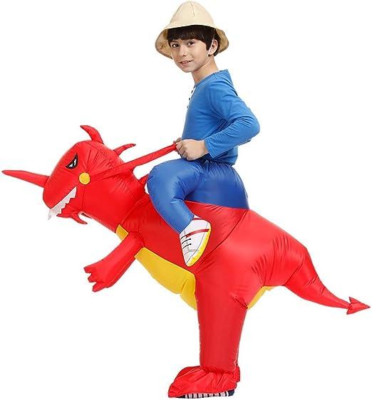 Ride en Dinosaurio Disfraz Inflable Traje Cosplay Props para ...