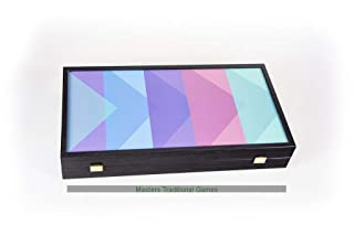 Manopoulos Colour Spectrum Backgammon Set