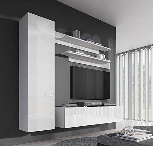 Conjunto Muebles Nora Blanco Modelo G1: Amazon.es: Hogar