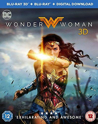 Wonder Woman  Blu Ray 3D   Blu Ray