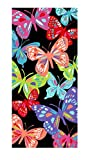 Mainstay  Butterflies Beach Towel, 28 X 60