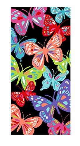 Mainstay  Butterflies Beach Towel, 28 X 60 by Mainstay