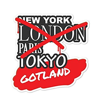 Graffiti Streetart New York Design Gotland Farbe JOllify Aufkleber