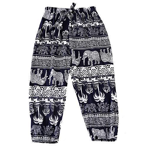Children Hippy Thai Harem Aladdin Pirate Knickerbockers Kids Boys Girls Bohemian Baggy Pants Bloomers Colorful -
