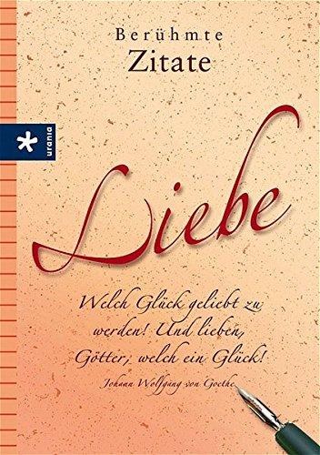 Berühmte Zitate Liebe 9783332017267 Amazoncom Books