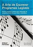capa de A Arte de Escrever Programas Legíveis