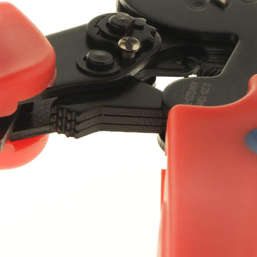 F Fityle 5x 5x 5x Ratschen-Crimpzange für AWG Abisolierzangen Unterstützung DIY-Projekte und elektrischer Reparaturen B07M7NX8VD   Praktisch Und Wirtschaftlich  fef1e6