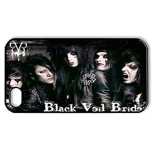 Popular Music Band Black Veil Brides BVB Hard Plastic Back Protective Case for Apple Iphone4&4s FC-4