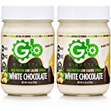Gbutter High Protein Low Calorie Spread (White Chocolate)(2 Pack)