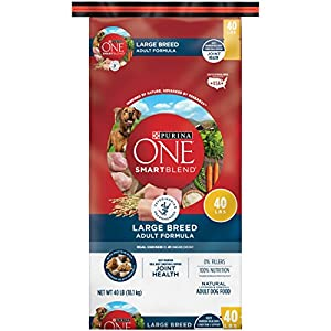 Purina ONE SmartBlend Natural Large Breed Formula Adult Dry Dog Food - 40 lb. Bag